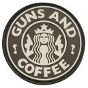 Patch Guns and Coffee  noir