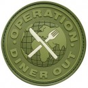 Patch Diner Out OD Green