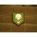 Patch SOF Skull Rubber Patch blanc